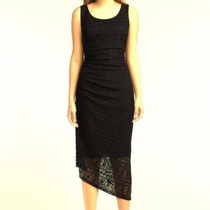 Adorable Lace Asymmetrical Dress